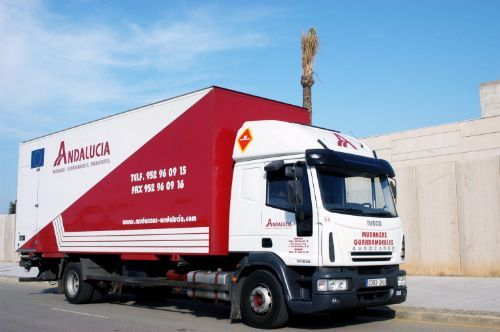 Los camiones de mudanzas
